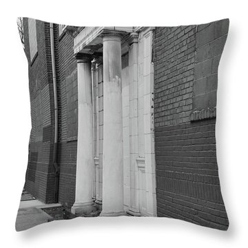 Hurst House Door Throw Pillow
