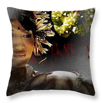 Hurtful Memories Throw Pillow