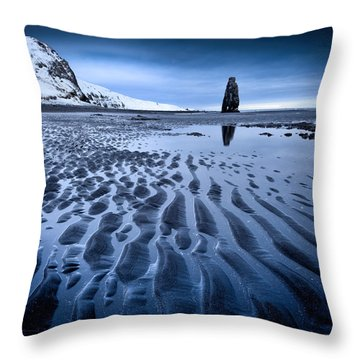 Hvitserkur, Iceland Throw Pillow