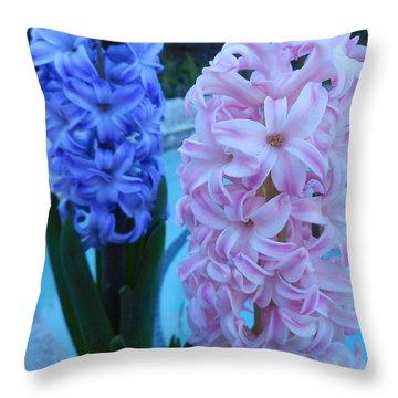 Hyacinth 1 Throw Pillow