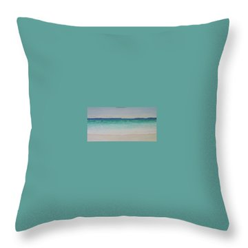 Hyams Beach Throw Pillow