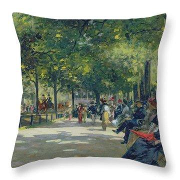 Hyde Park Throw Pillows