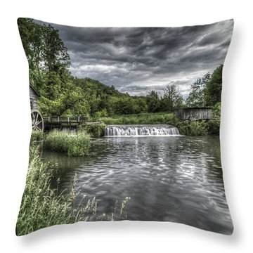 Hyde's Mill Throw Pillow