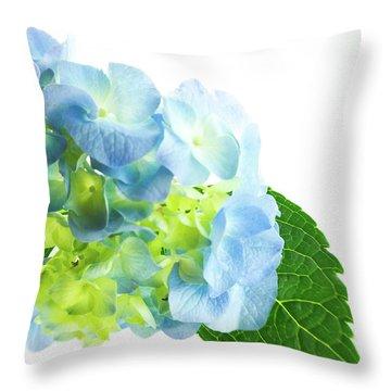 Hydrangea Magic Throw Pillow