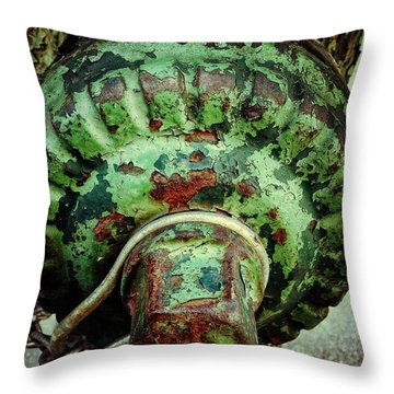 Hydrant 255 Throw Pillow by Olivier Calas