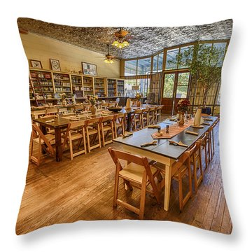 Hye Market General Store Throw Pillow by Kathy Adams Clark