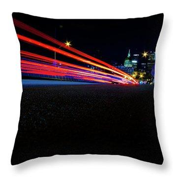 Hyper Drive Throw Pillow