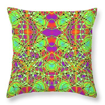 Hyper Illusion Throw Pillow