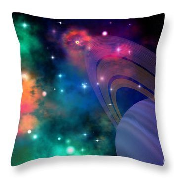Hyperbola Throw Pillow by Corey Ford