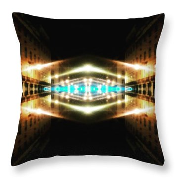 Hypergate To Lisbon Throw Pillow