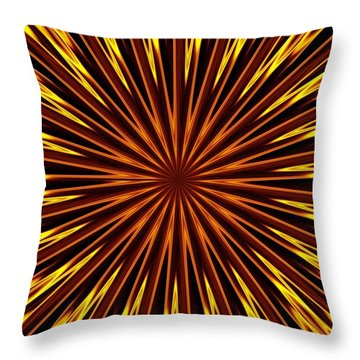 Hypnosis 6 Throw Pillow by David Dunham