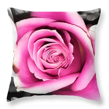 Hypnotic Pink 2 Throw Pillow