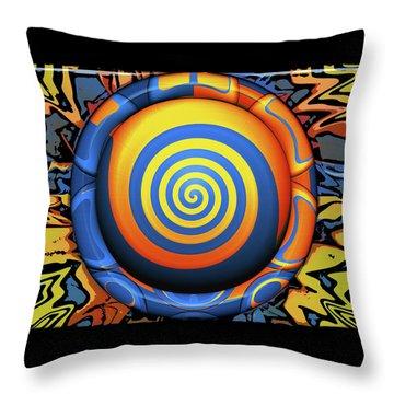 Hypnotrippery Throw Pillow