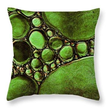 Hypothetica Parasitus Throw Pillow