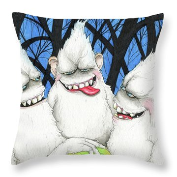 Hysterically Funny Throw Pillow