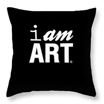 I Am Art- Shirt Throw Pillow