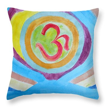 I Am Existence Throw Pillow