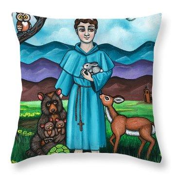 I Am Francis Throw Pillow