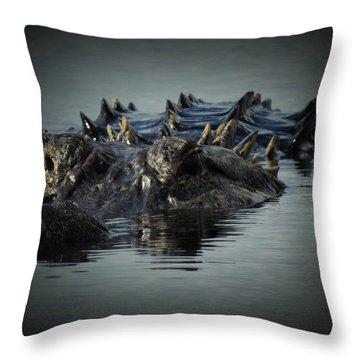 I Am Gator, No. 45 Throw Pillow