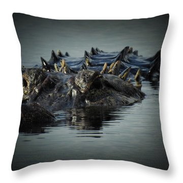 I Am Gator, No. 45 Throw Pillow