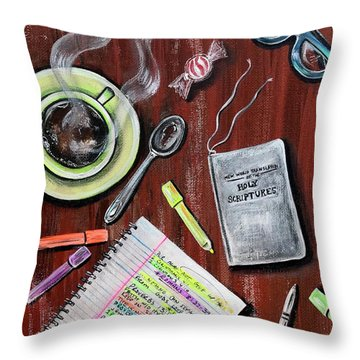I Am Jehovahs Friend  Throw Pillow