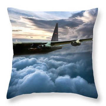 I Am Legend B-52 Throw Pillow by Peter Chilelli