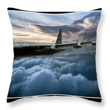 I Am Legend B-52 V2 Throw Pillow by Peter Chilelli