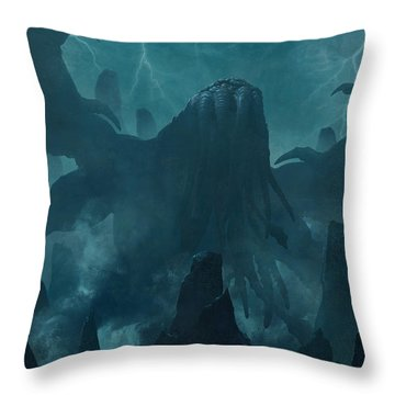 I Am Providence Throw Pillow