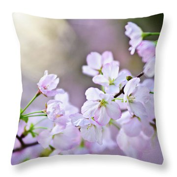I Am Renewed  Throw Pillow by Jamie Starling