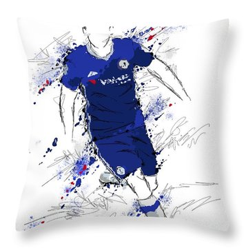I Am Royal Blue Throw Pillow