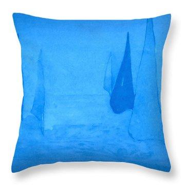 I Am Sailing 2 Throw Pillow