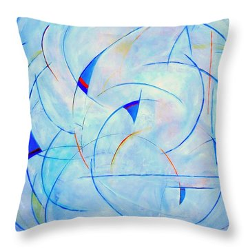 I  Am Sailing Throw Pillow