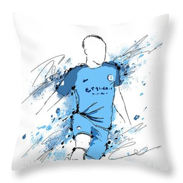 I Am Sky Blue #2 Throw Pillow