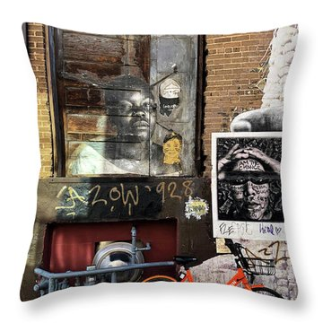 I Am The Change Throw Pillow