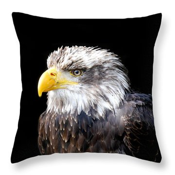 I Am The Law Throw Pillow by Bernd Hau