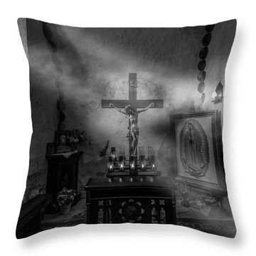 Throw Pillow featuring the photograph I Am The Light Of The World by David Morefield
