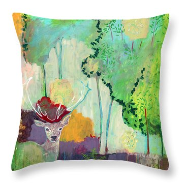 I Am The Meadow In The Forest Throw Pillow