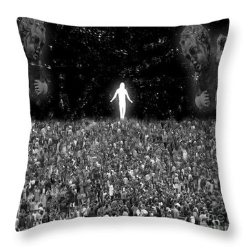 I Am The One Throw Pillow