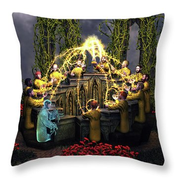 I Am The Vine - You Are The Branches Throw Pillow