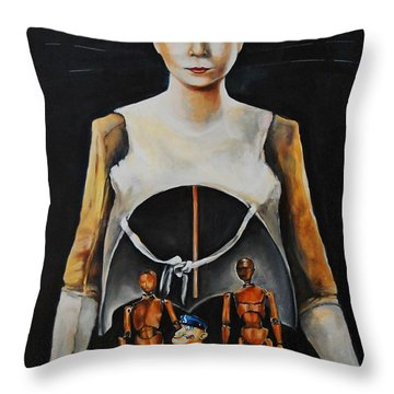 I Am What I Am Throw Pillow by Jean Cormier