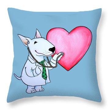 I Am Your Dogtor Throw Pillow