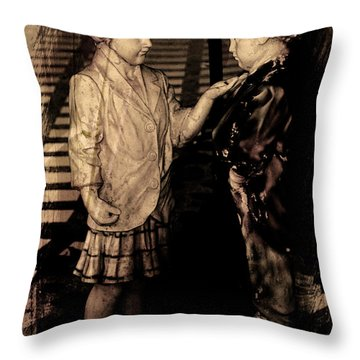 Throw Pillow featuring the photograph I Approve by Al Bourassa