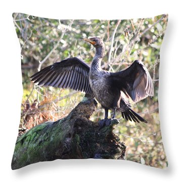 I Believe I Can Fly Throw Pillow