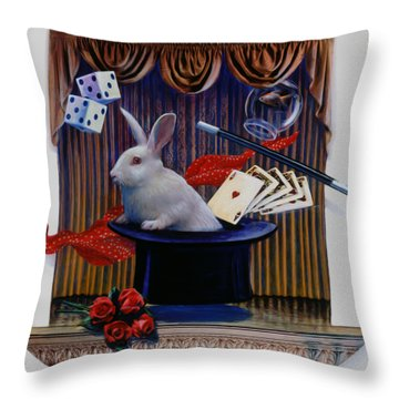 I Believe In Magic Throw Pillow