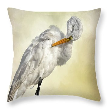 I Bow My Head Throw Pillow