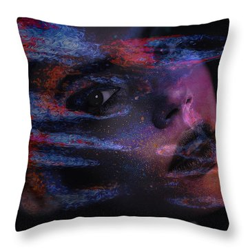 I Breathe Art Therefore I Am Art Throw Pillow