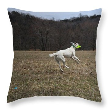 I Can Fly Throw Pillow by Patricia Olson