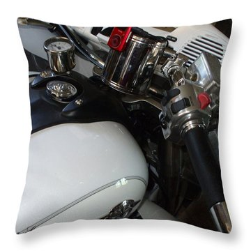 Throw Pillow featuring the photograph I Can Handle It by Shana Rowe Jackson