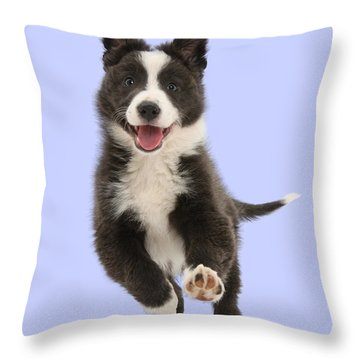I Can Run All Day Throw Pillow