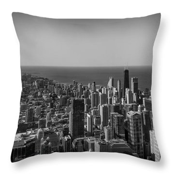 Throw Pillow featuring the photograph I Can See For Miles And Miles by Howard Salmon